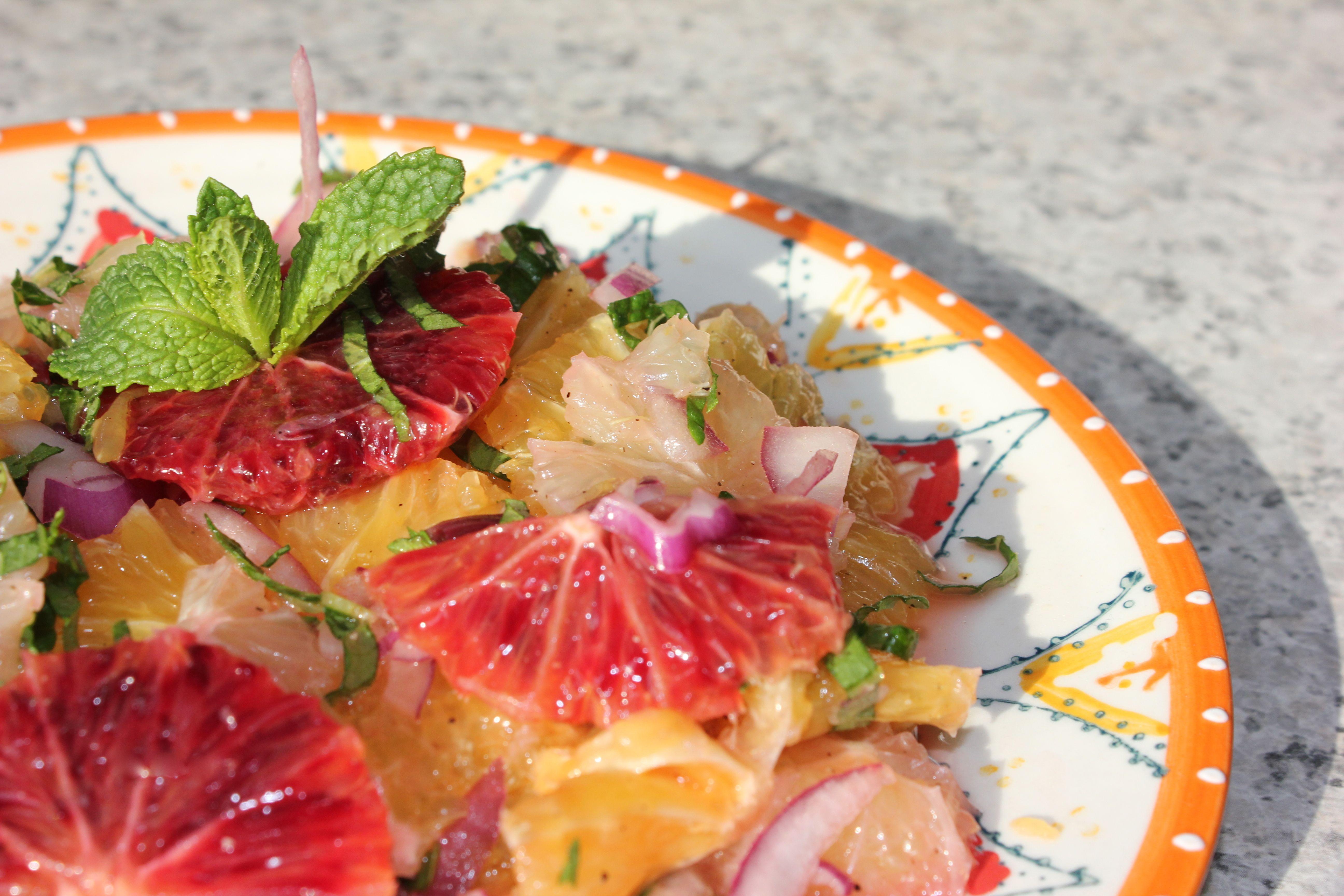Sicilian-Inspired Blood Orange Salad Recipes — Dishmaps